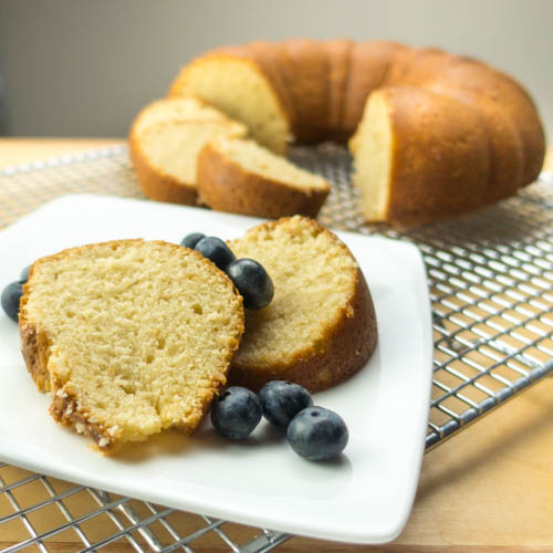 Brown Sugar Sour Cream Pound Cake